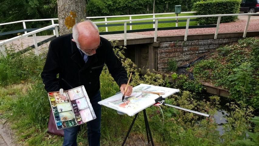 AmuSantTwisk – teken- en schilderdag